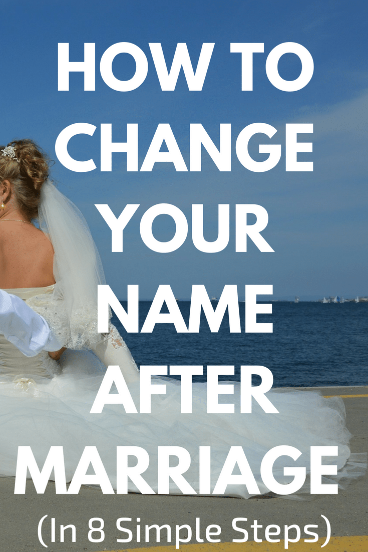 How to Change Your Name After Marriage in 8 Simple Steps