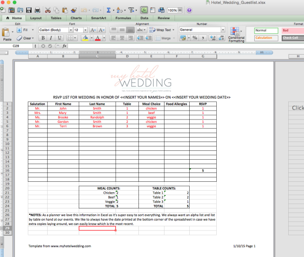 New Tools Launched on MHW A downloadable wedding guest
