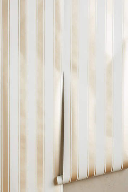 Bevins Stripe Wallpaper - anthropologie.com