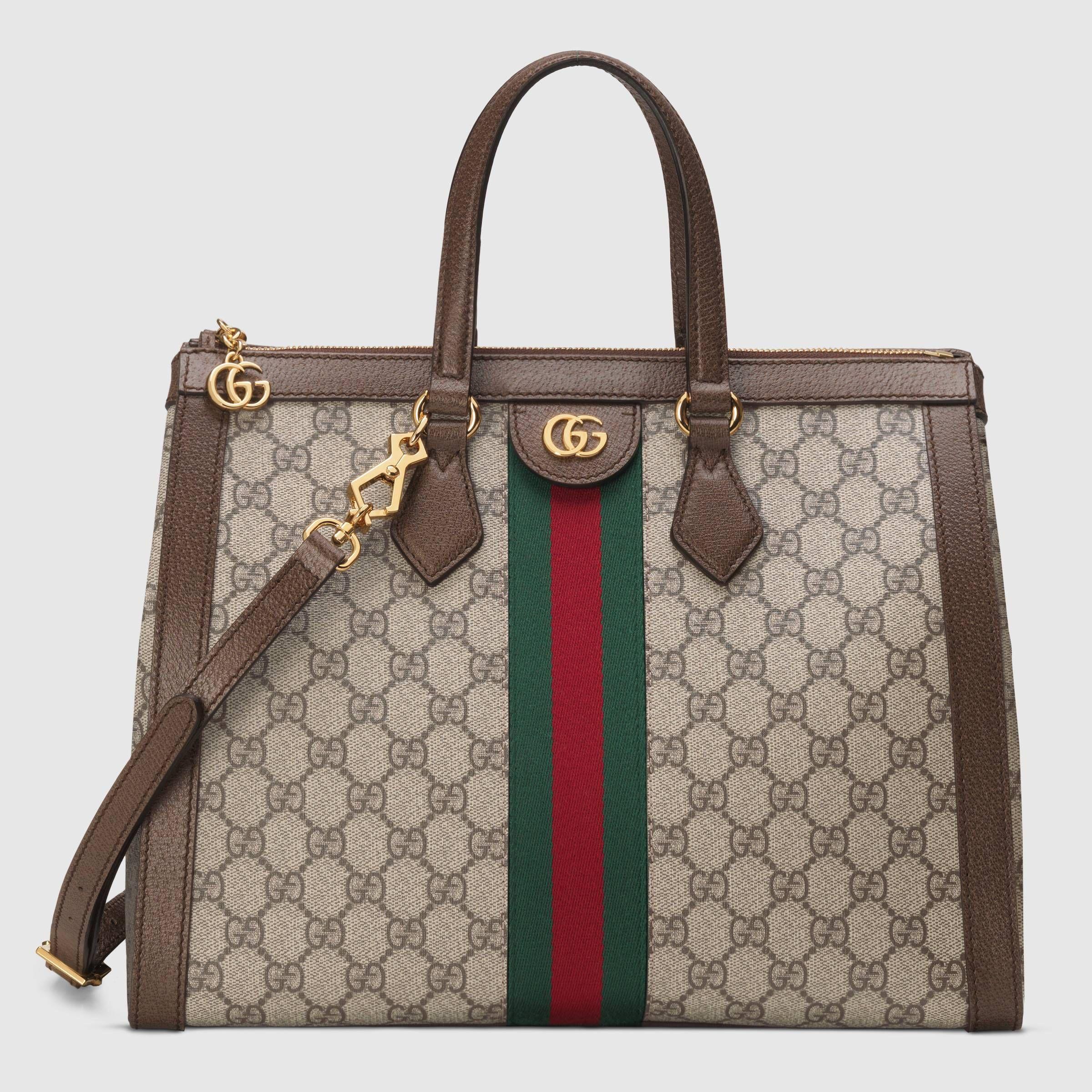 520072fec8d1 Ophidia GG medium top handle bag - Gucci Women's Totes 524537K05NB8745