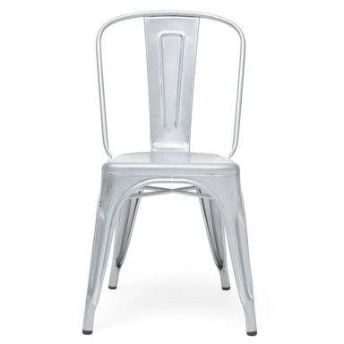 Tolix Stuhl tolix stuhl a verzinkt außenmöbel und zubehör magazin com