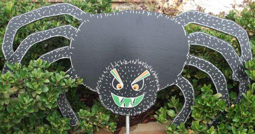 Spider Yard Art