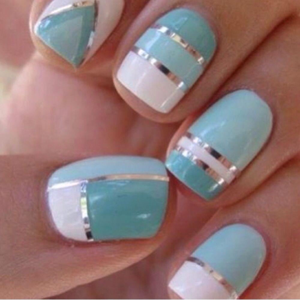 Blue nails nails pinterest blue nails