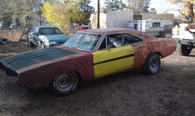 SOLD 1969 Dodge Charger project or parts car - B Mopars For ...