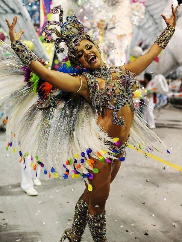 A Reveler From Mocidade Alegre Samba School Performs Yasuyoshi