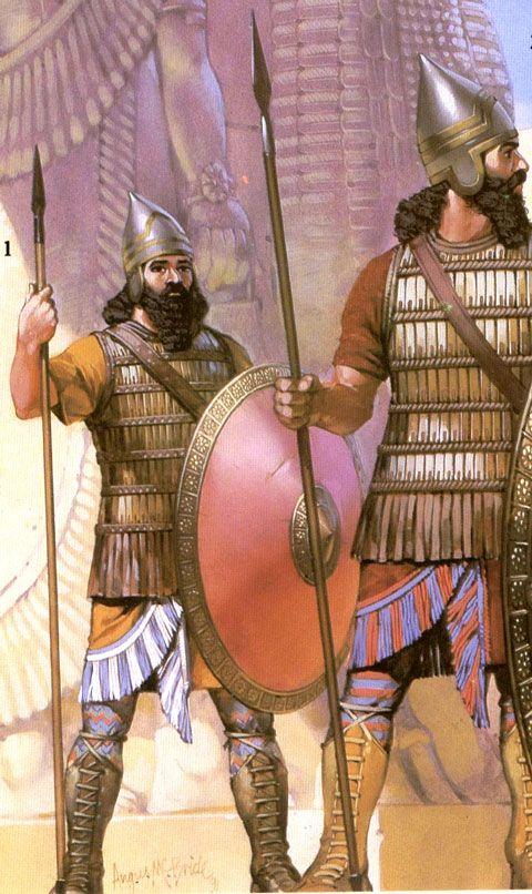 Soldados - Assurbanipal  http://www.sistema.templodeapolo.net/imagens/imagens/Militar%200002%20www.templodeapolo.net%20-%20Guerreiros%20asssrios.jpg