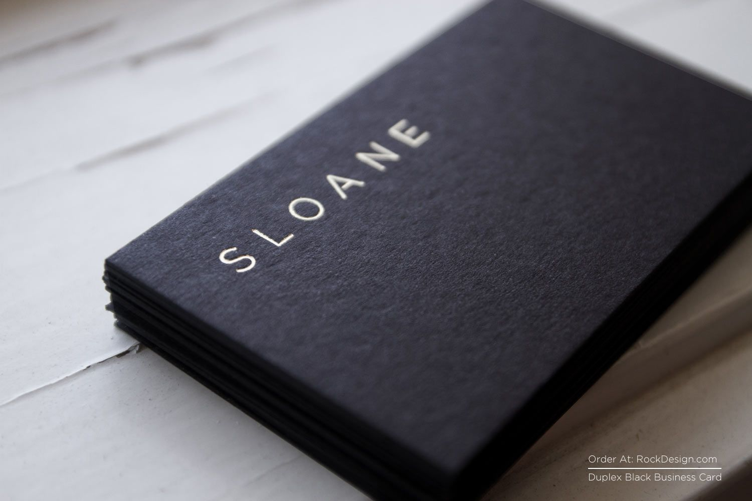 RockDesign.com | High End Business Cards | Black Business Cards ...