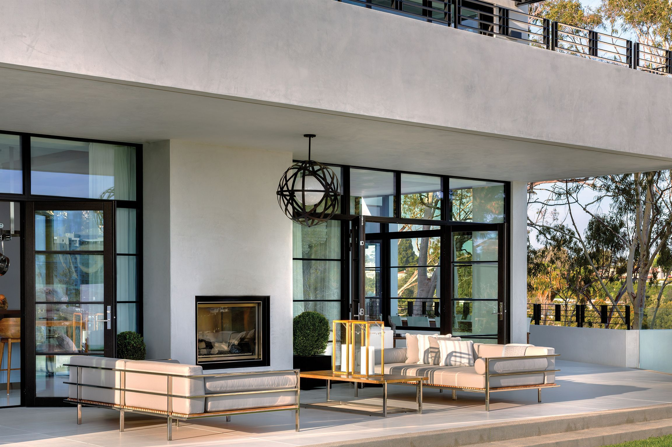 The Chicest Outdoor Fireplace Ideas to Steal for Your Backyard