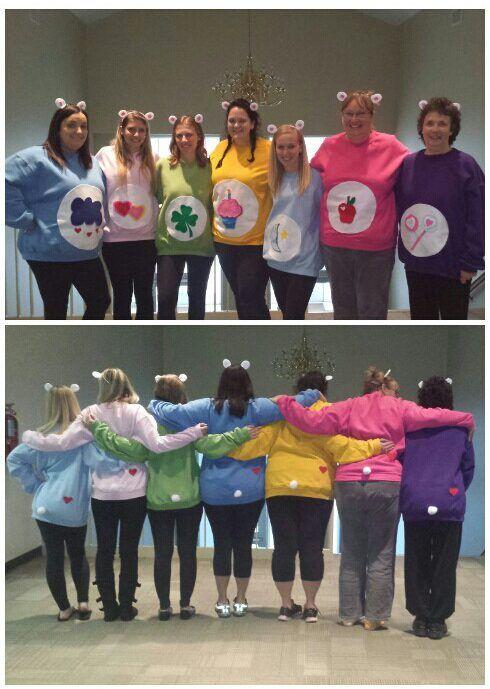 Diy Care Bears Costume Diy Care Bears Group Costume Idea