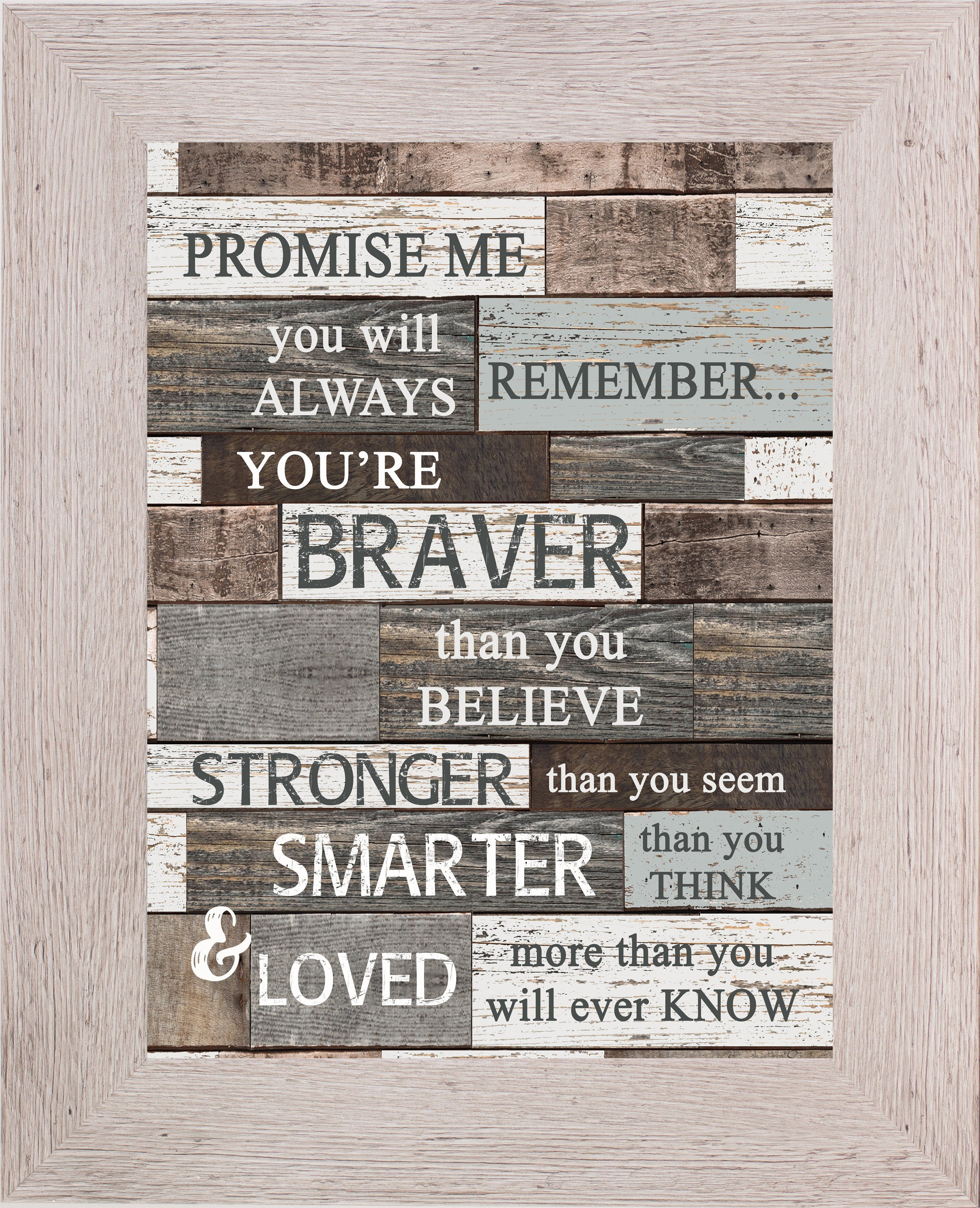 Promise Me You'll Always Remember SSA114 | Pallet gift ...