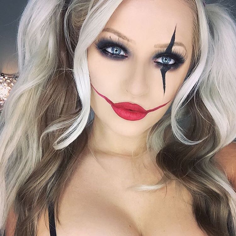 harley quinn halloween inspo by babsbeauty using our. Black Bedroom Furniture Sets. Home Design Ideas