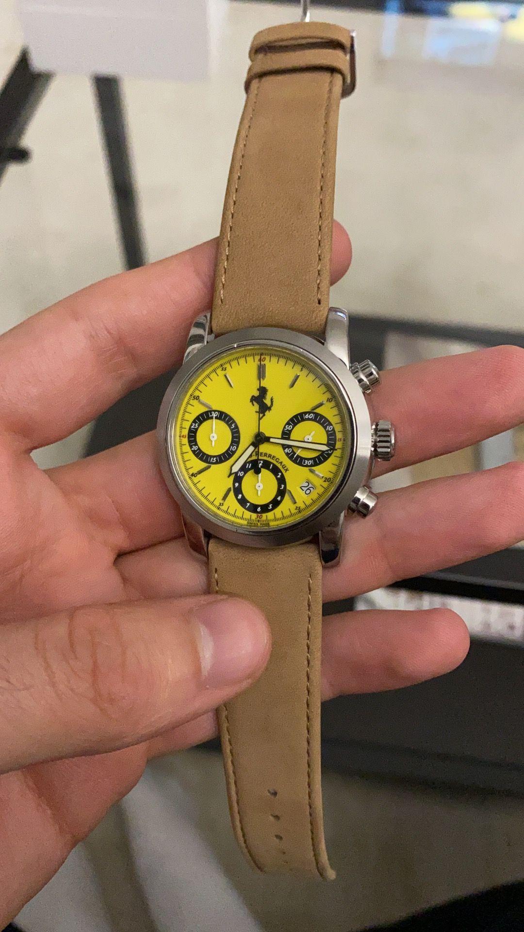 Verkauf Girard Perregeaux Chronograph Ferrari Thewristgang Luxus Uhren Luxusuhr Uhr