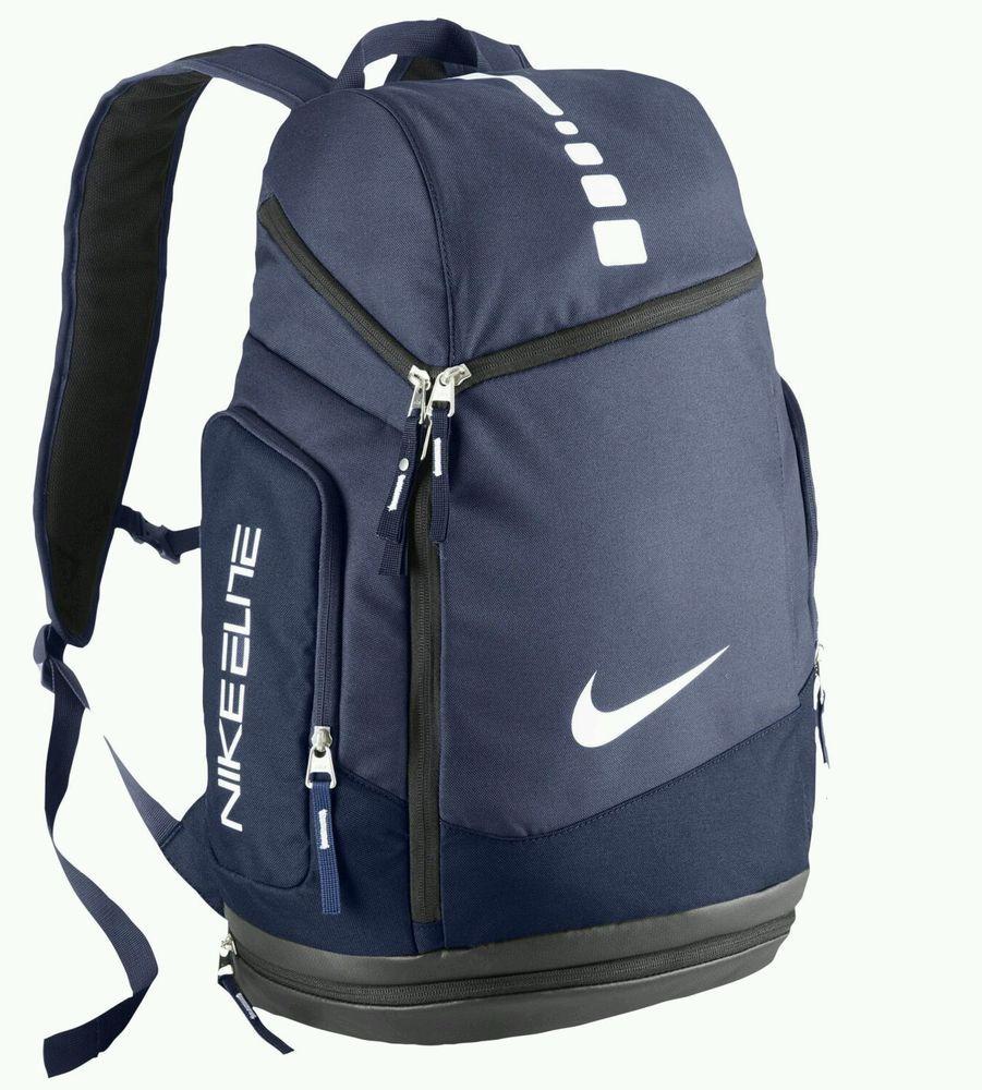 bdcfd9c4198d NIKE HOOPS ELITE MAX AIR TEAM BACKPACK Gym Bag. Midnight Navy. Retail  80   Nike  Backpack