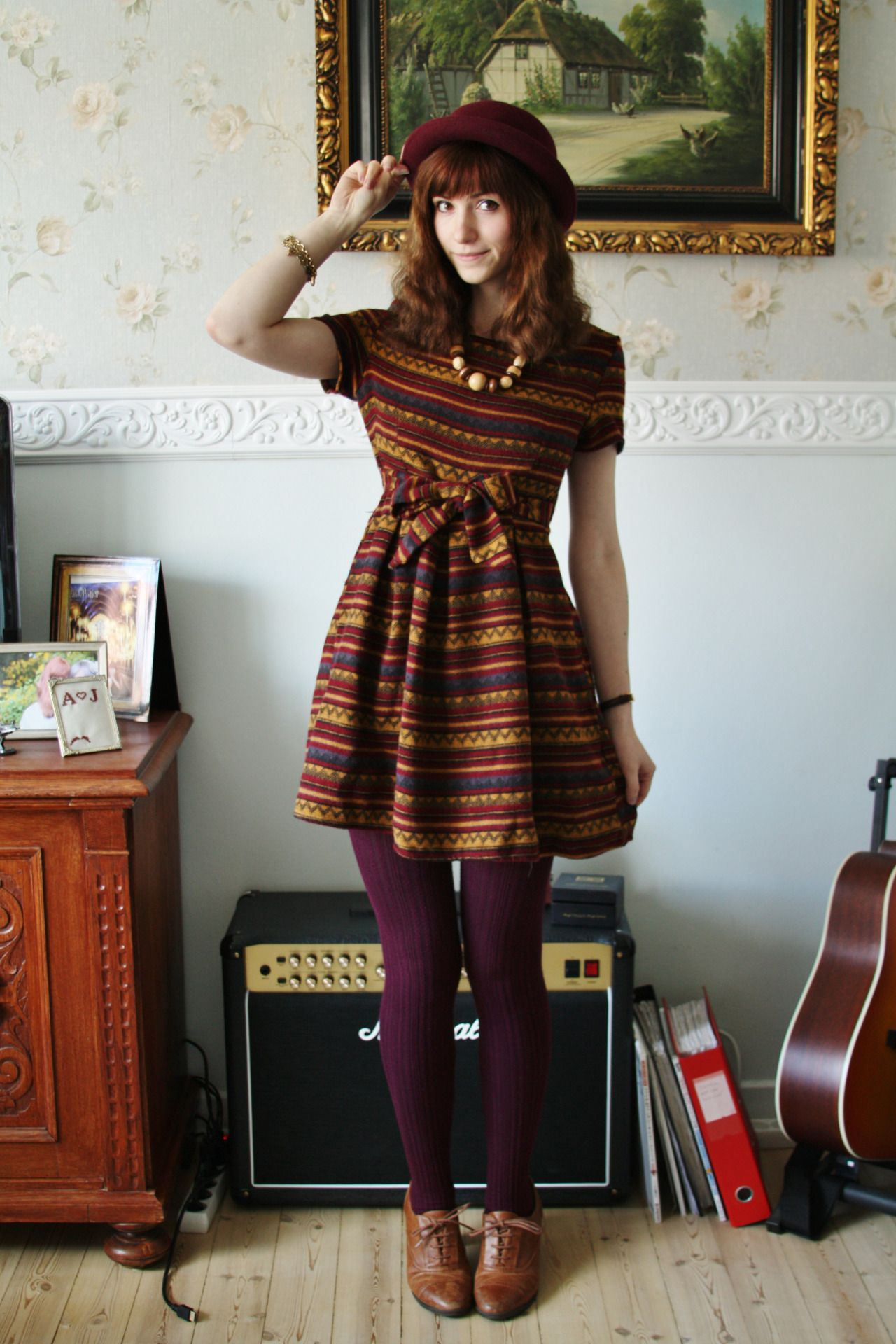 Merely Wool Tights Photo Winter Fashion Wool Tights