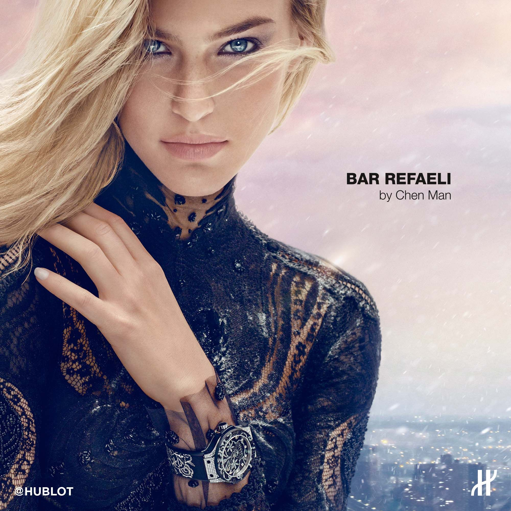 24dbf76d18 Bar Refaeli for HUBLOT # hublot # barrefaeli | Icons of ...