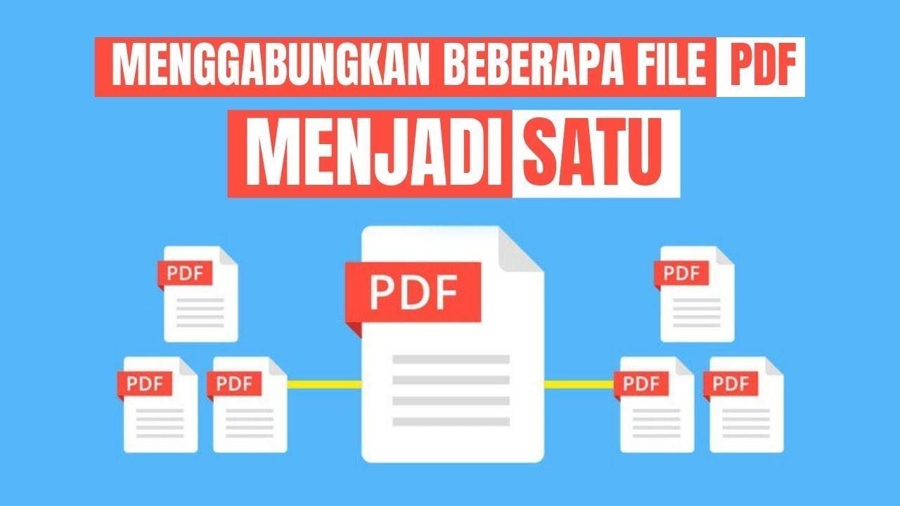 Cara Menggabungkan File Pdf Menjadi Satu Science Website Aplikasi