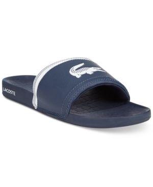 Slide Sandal Slides Lacoste Fraisier Blue Men's 10Sandalias PkZiXOu