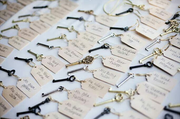 Vintage key wedding favour | Wedding ideas | Pinterest | Favors and ...