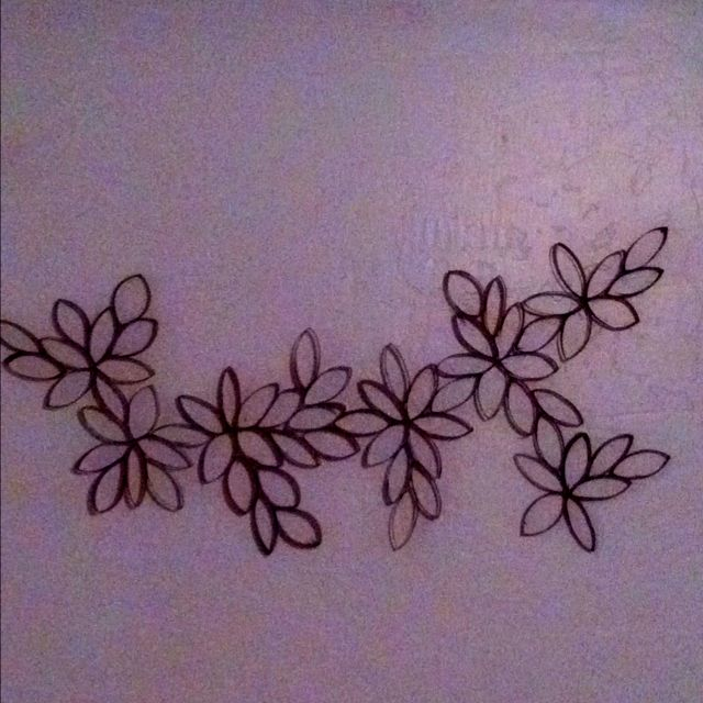 Toilet paper roll art! Perfect for the space above our headboard!