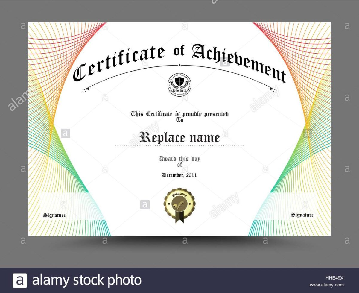 Certificate Diploma Border Certificate Template Design On With Certificate Border Design Templates In 2020 Certificate Templates Template Design Certificate Border