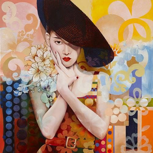 Source: ✿ Wendy NG ✿ – Catherine La Rose Poesia e Arte   ✿ Wendy NG ✿ • painting , Wendy Ng Biography in: