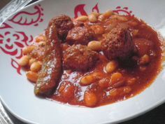 Photo of market loubia / white bean stew