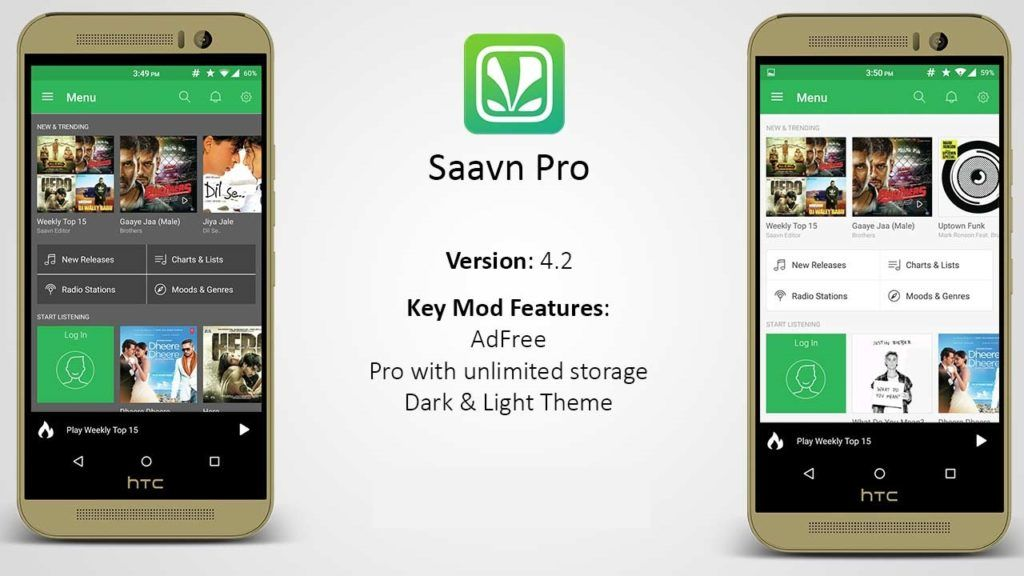Saavn Pro Patched – Download Unlimited Songs for Free Moded