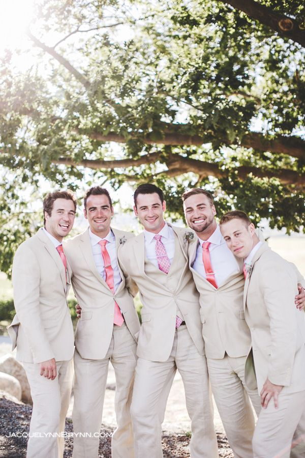 Styling Your Tan Groom: Tan Suits for Summer Weddings | Summer ...