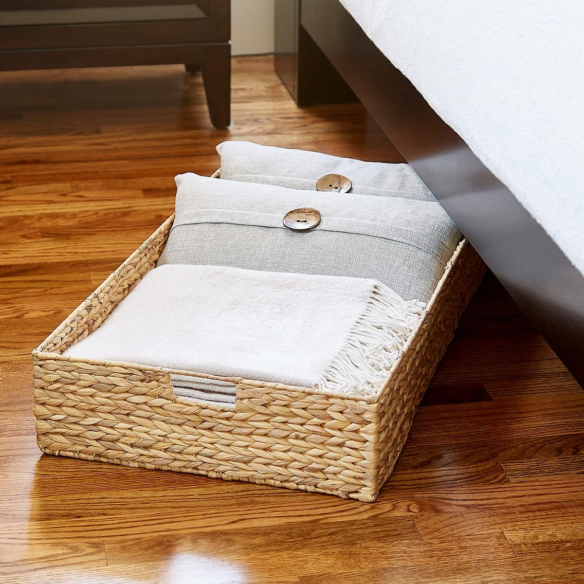Water Hyacinth Coffee Table Under Bed Bin Under Bed Plastic