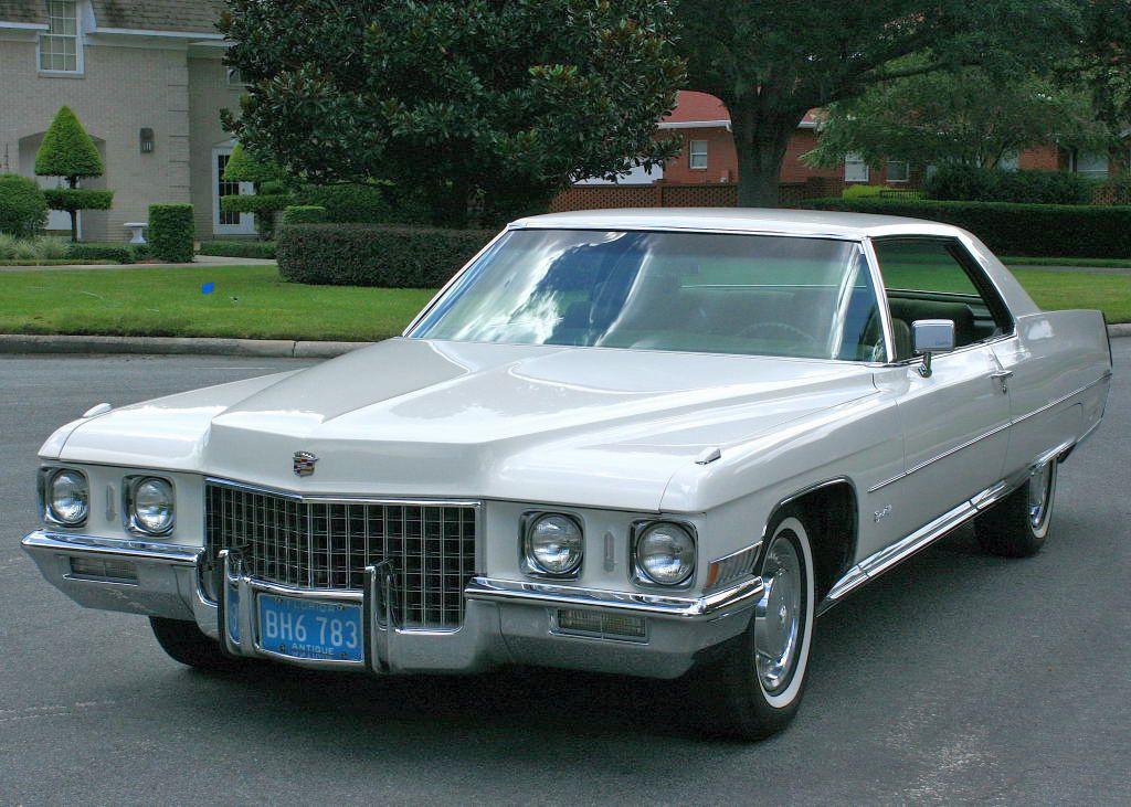 1971 Cadillac Coupe de Ville | Cadillac 1971-76 | Pinterest ...