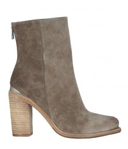 Suede High Hessian Boot, Women, Boots & Shoes, AllSaints Spitalfields