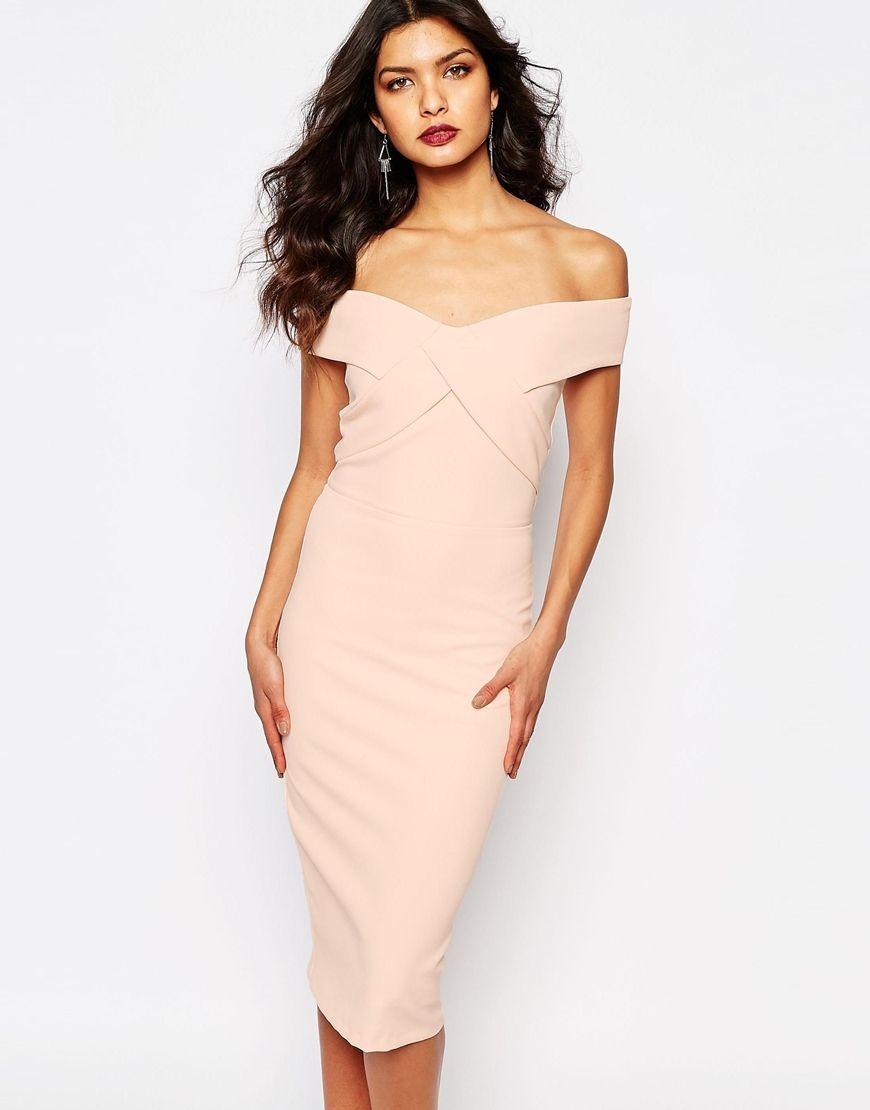 Image 1 of River Island Bardot Bodycon Dress | before 40 | Pinterest ...