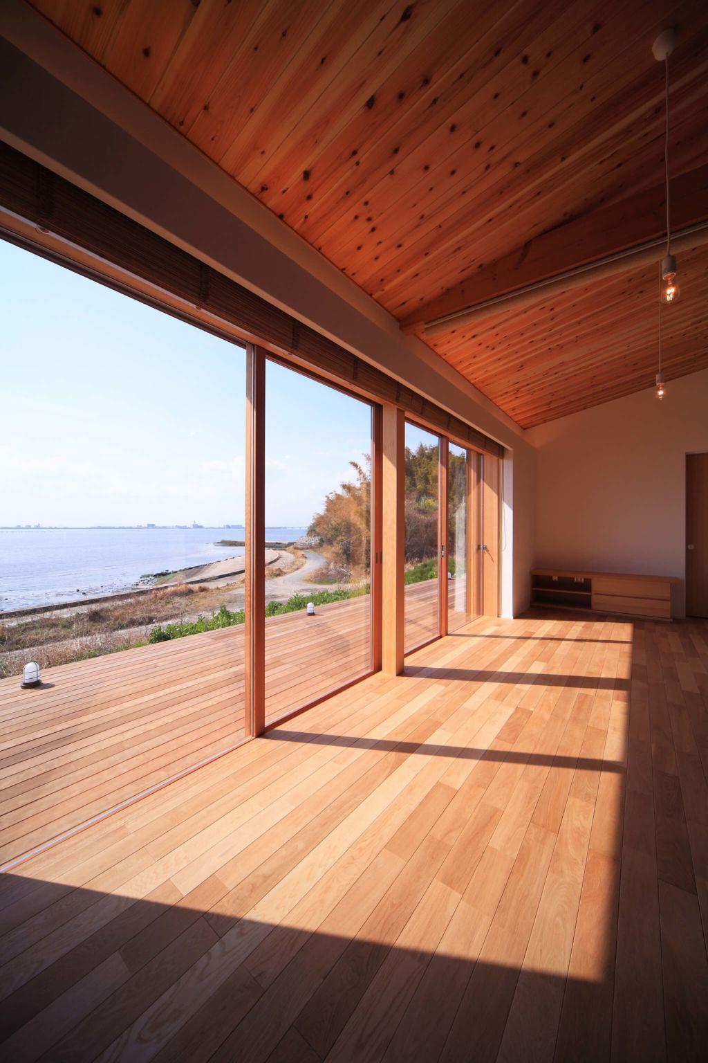 海の見える家 海 の 見える 家 家 外観 おしゃれ 平屋 家