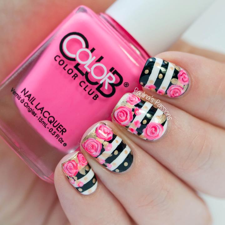 Tutorial on this gorgeous rose nail art! - Tutorial On This Gorgeous Rose Nail Art!!! BEAUTY: All About