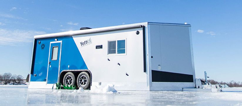 Yetti Fish House >> The Yetti Ice Fishing House Is The Lightest And Highest