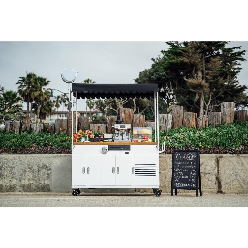 étonnant  Mot-Clé Ferla Grande Advanced Vending Cart Available In Stock   Yes / Yes / White