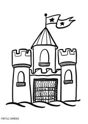 Immagini Castelli Da Colorare.Disegni Di Castelli Da Stampare E Colorare Gratis Portale Bambini Castelli Castle Coloring Coloringpages Co Disegno Di Castello Disegni Disegni A Mano