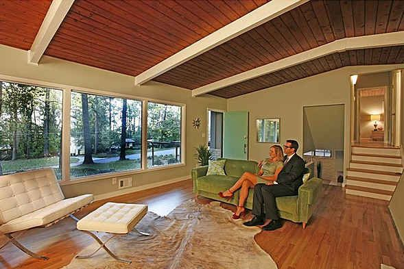 Mid Century Modern Home Interiors mid-century modern house tour in lawrence, ks | mid century, mid