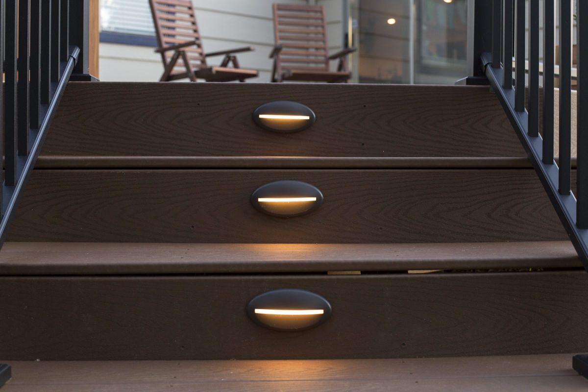 Install Azek Lighting Fascia On Deck