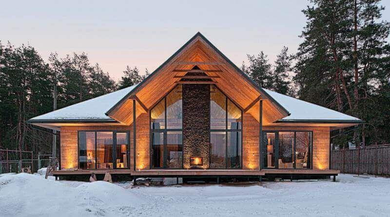 Chalet Style 1 Jpg 800 445 Pixels Chalet Design House Exterior Architecture House