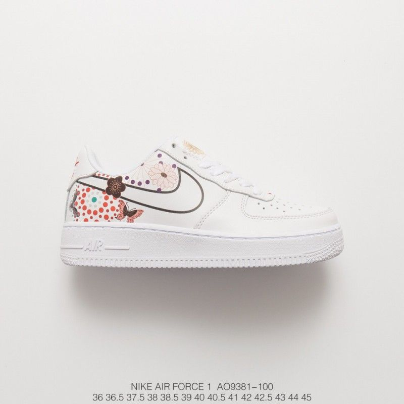 Fsr 18ss New Year's Eve Nike Air Force 1 Classic Low Leather