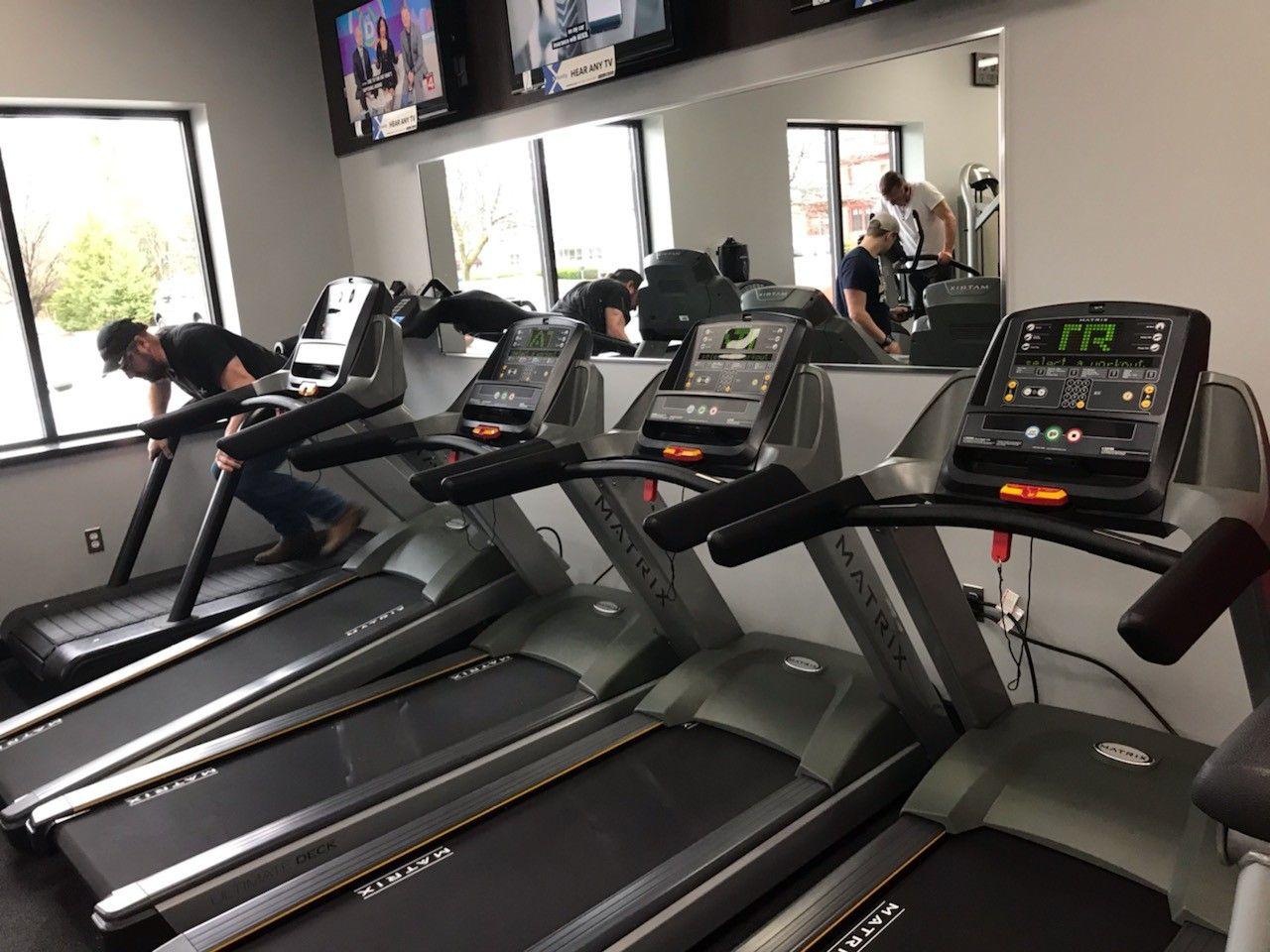Installed Some New Matrix Treadmills At Snap Fitness Holly Yesterday Installation New Matrix Treadmill