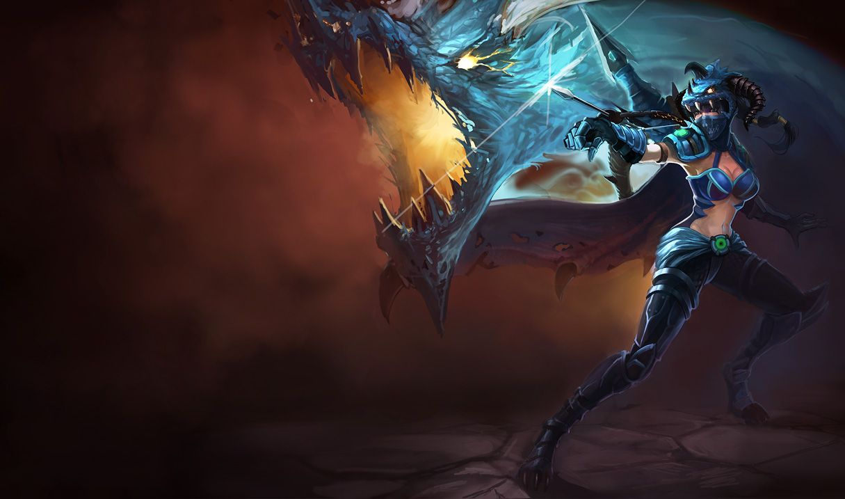 Dragonslayer Vayne | League of Legends