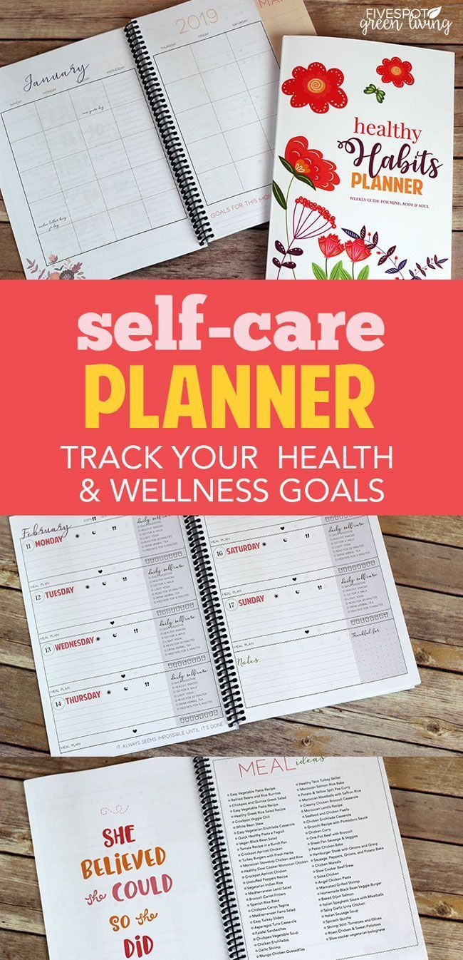 Whether you are seasoned in health and wellness or you just want to learn more about how to implement healthy habits into your busy life, this Daily Self Care Checklist Planner for Health and Happiness is the tool to keep you on track!