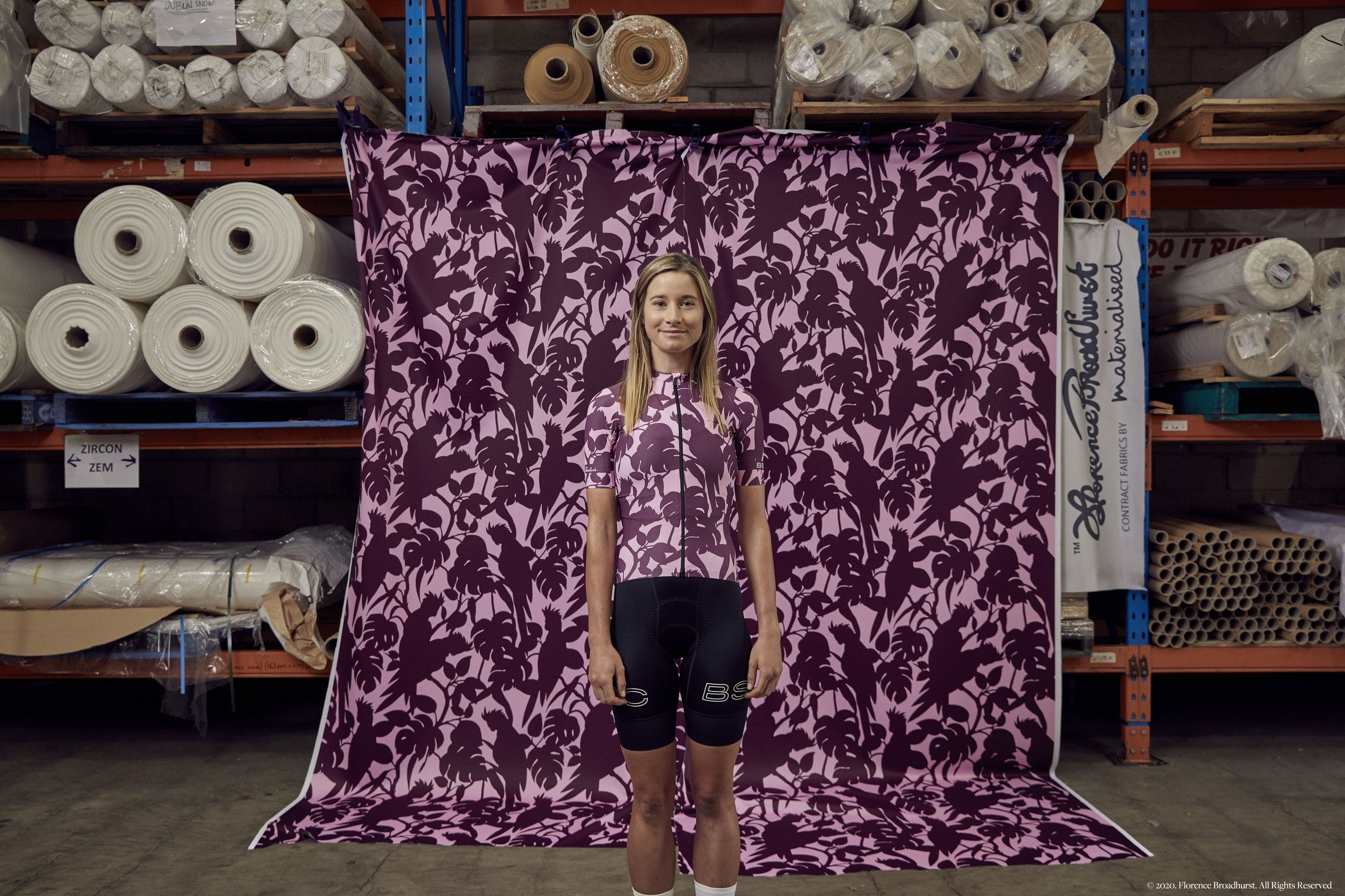 Bsc X Florence Broadhurst By Black Sheep Cycling Black Sheep Cycling Makers Of The World S Most Beautiful Cycling Apparel In 2020
