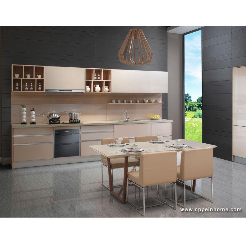 Melamine Kitchen Cabinet Model Op13 058 Kitchen Design Gallery