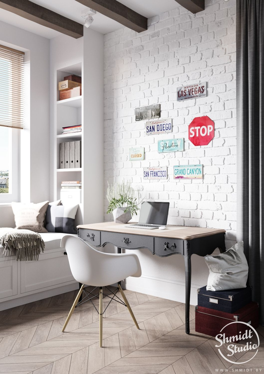 A Scandinavian Chic Style 3 Bedroom Apartment For A Young Family In 2020 Scandinavian Style Furniture Nyc Furniture Home Office Design