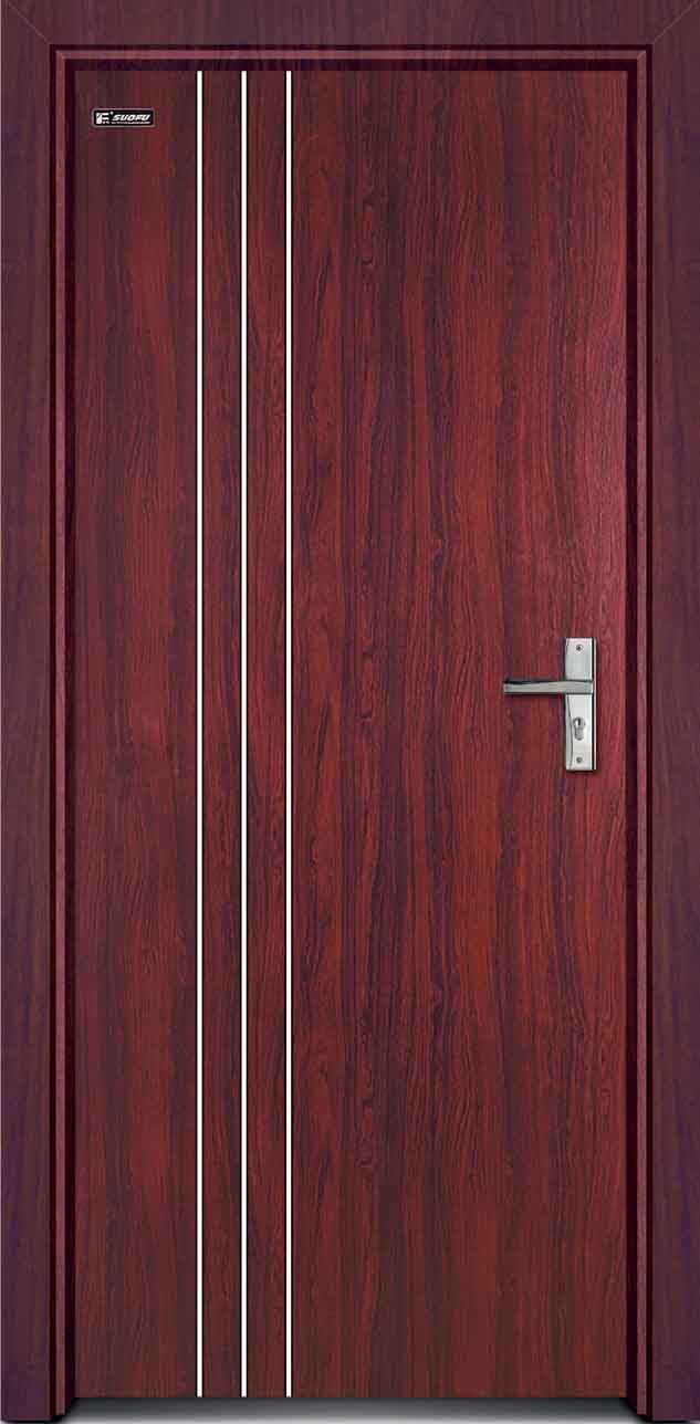 Nice PVC Interior Door SN 10  (633×1288