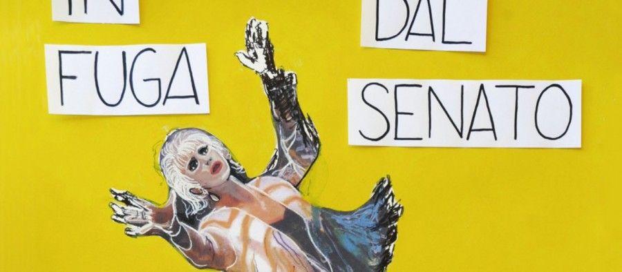 """#Report: """"Franca Rame In fuga dal Senato al Teatro Sistina di Roma. Tutto esaurito"""" di Dale Zaccaria"""