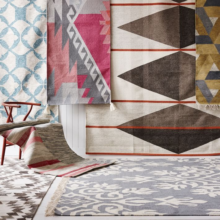Make the most of your space choose a west elm rug in a range of natural materials styles and - Alfombras contemporaneas ...